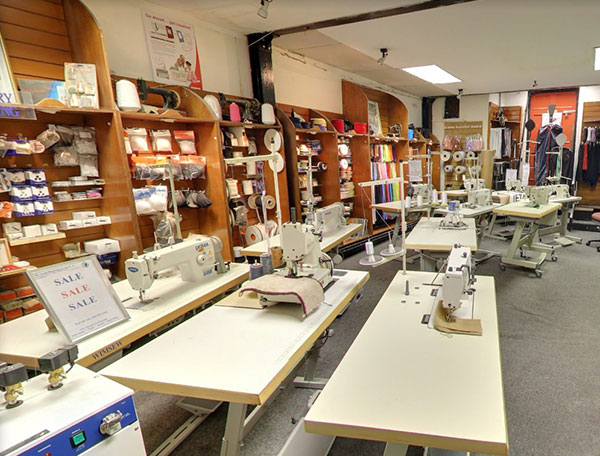 Sewing Machines and over 5000 fabrics