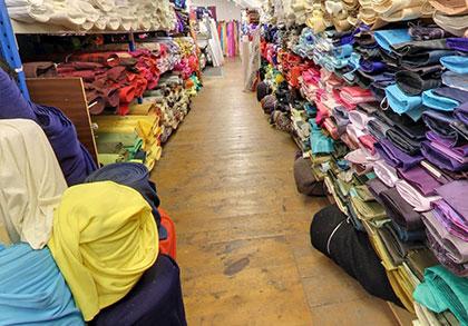 services fabrics Ireland-Fabrics Display