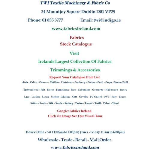 Basic Fabric Stock Catalogue